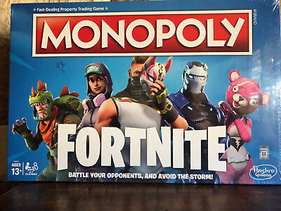 Monopoly: Fortnite Edition Board Game Inspired by Fortnite Video Game