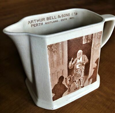 Antique Arthur Bell & Sons Wade Regicor Scotch Whiskey Jug Vintage Collectable