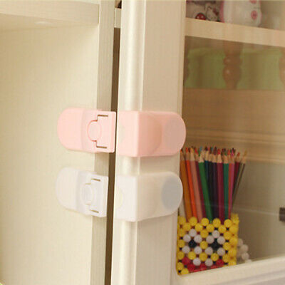 Kids Child Baby Pet Housing Door Cupboard Refrigerator Drawer Lock FASHION