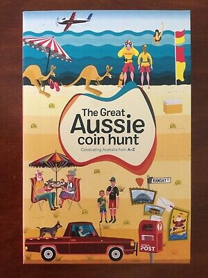 The Great Aussie Coin Hunt New Full Set 26 $1 A To Z Album Folder Free Postage