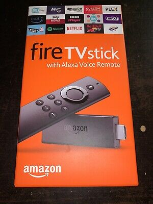 Amazon Fire TV Stick with Alexa Voice Remote (2019) - Boxed - UK