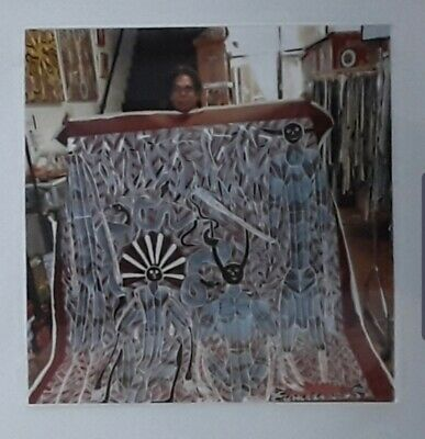 NEW. Aboriginal artist EDWARD BLITNER 206cm x 187cm with COA