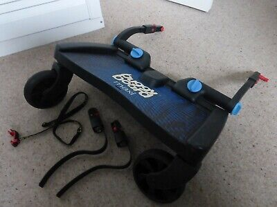 Lascal Buggy Board Maxi - With Uncut Connectors and stowaway strap