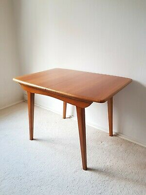 Superb Mid Century Extending Dining Table Vintage Retro 50s 60s Seats 4 To 6