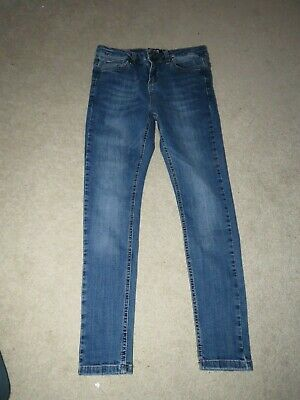 "Boy's Hera Skinny Jeans Blue - Size 28S W28"" L25"" freshly laundered"