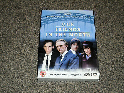 Our Friends In The North : Complete Bafta Series Dvd Boxset In Vgc (Free Uk P&P)