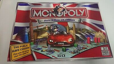 Monopoly Here And Now UK Edition Board Game
