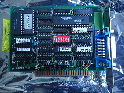 AXIOM AX5488 VER: A1 GPIB card IEEE-488.2