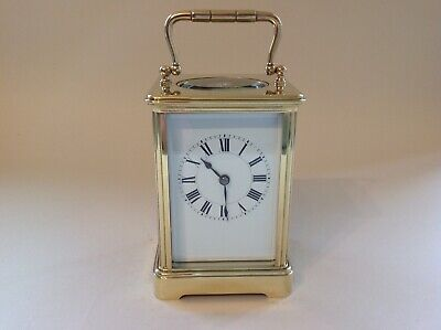 Stunning Antique Carriage Clock From Henri Jacot Restored Jan 2020