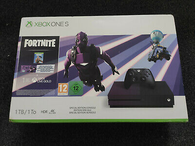 Xbox One S 1TB Fortnite Battle Royale Special Edition Console BRAND NEW & SEALED