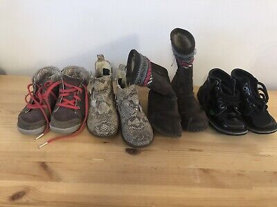 Girl Boots different sizes 9, 9.5 Job Lot