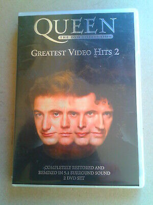 Queen, The DVD Collection: Greatest Video Hits 2  [DVD] [2003] (2) disc DVD set.