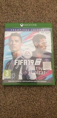 Xbox One Fifa19 Champions Edition Fifa 19 game