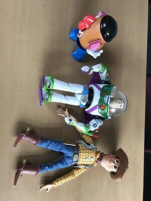 DISNEY TOY STORY WOODY DOLL, Buzz Lightyear Mr Potato Head