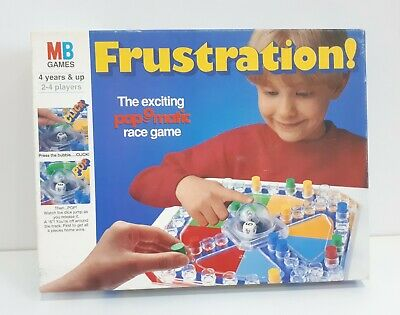 Vintage Frustration Board Game. 1994 MB (Milton Bradley). Family Fun Game.