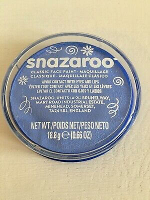 Snazaroo 18ml Face and Body Paint - Pale Blue Azure Corpse Bride Avatar
