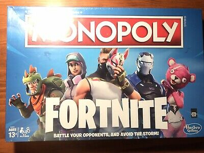 MONOPOLY Fortnite Edition Board Game Sealed