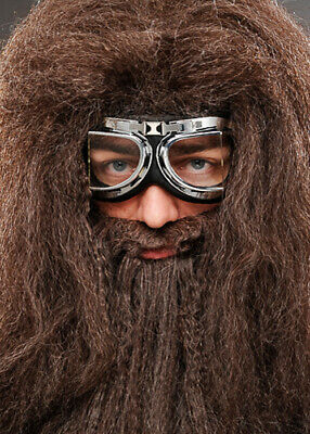 Hagrid Style Deluxe Motorcycle Flying Goggles