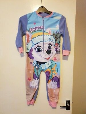 Paw Patrol Girls Fleece all in one Pyjama  Gift age 18-24  months Everest