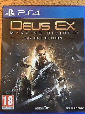 Deus Ex - Mankind Divided PS4 PlayStation 4 Game