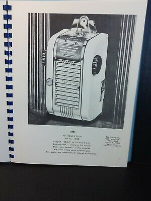 AMI 40 Selection Wall Box and SL SM Stepper Service Manual (Deluxe AMR Book)