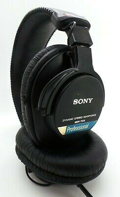 SONY Stereo Over-Ear Headphones MDR-7506 Professional  - Black - Used - Grade A