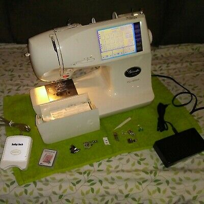 Brother Pacesetter PC-8500 Sewing Embroidery Machine PC8500 5x7 w/ PALETTE box