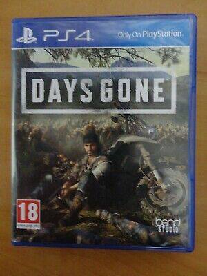 Days Gone PS4 (PlayStation 4, 2019)