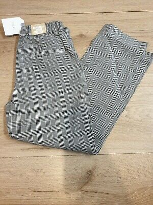NEXT Boys Age 5-6 Checked Trousers *BNWT