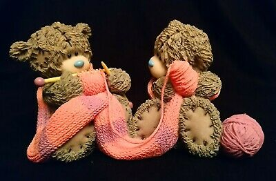 Me To You/Tatty Teddy Figurine/Ornament - 40876 - Closely Knit -  BOXED