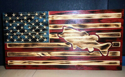 Bass flag- united states bass flag - man cave flag- bass fishing flag