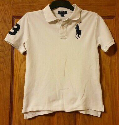 Ralph Lauren Polo Shirt Boys Medium Age 10-12