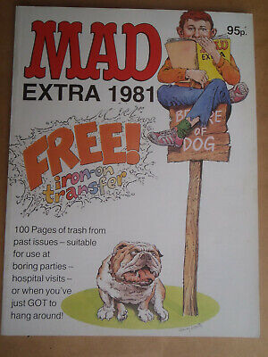 Mad Magazine Extra 1982. 112 pages: bind-up of 3 earlier issues.