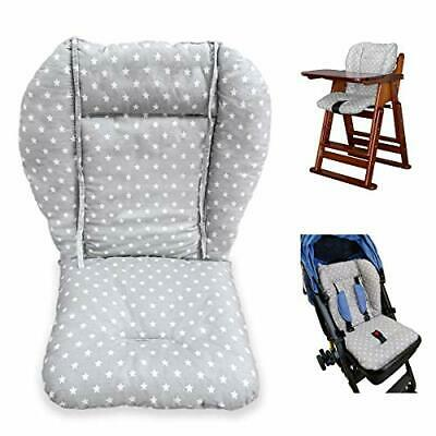 Twoworld High Chair Cushion, Large Thickening Baby Stroller/Car/High Chair Seat