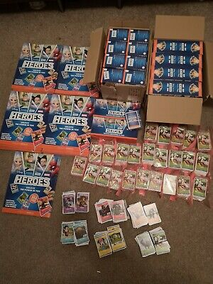 Sainsbury's disney heroes cards, Books/Albums, Job Lot Full Sets collection only