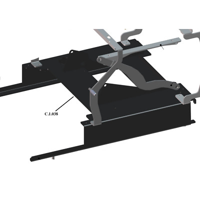 La Marzocco GS3 C.1.038 Base Frame Assembly with Boiler Brackets