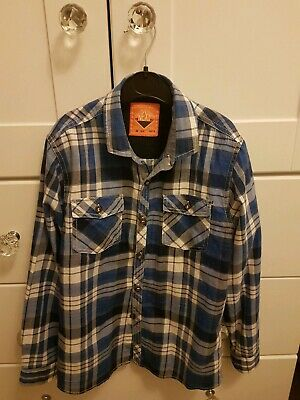 Next Boys checked shirt long sleeved age 9 new without tags