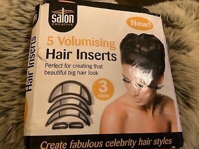 Salon Creative 5 Volumising Hair Inserts - New in Box- with Instructions