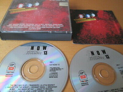Now Thats What I Call Music 13 (1988) 2-Cd: Fat Case Nr Mint