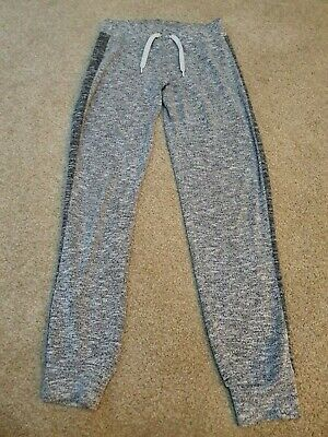 Girls Soft Stretchy Jogging Bottoms Grey Age 11 Years