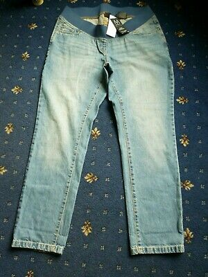 Ladies Size 14R Maternity Slim Slouch Jeans Low Rise by Next cost £30