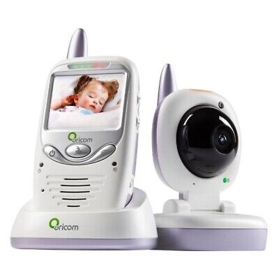 """Oricom Secure 700 Baby Monitor Addition 2.4 """" Color LCD Display Infrared Camera"""