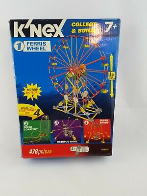 Light Up Ferris Wheel Part KNEX Light Module Lighted Flexi Rods /& Battery Pack