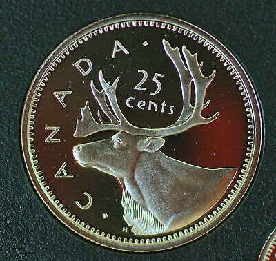 2003 Canada Special edition Proof 25 cent coin - 50 anniv of Queen's Coronation