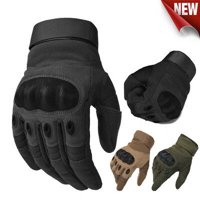 Motorcycle Gloves Army Military Tactical Motorbike Hiking Hunting Outdoor Sport
