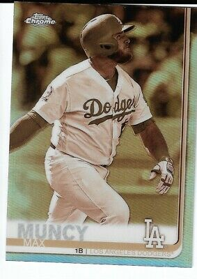 2019 Topps Chrome Sepia Refractor #32 Max Muncy Los Angeles Dodgers