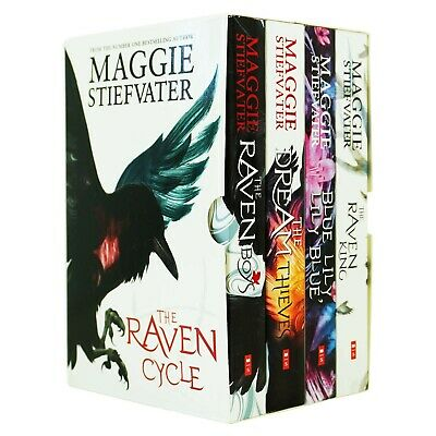 Raven Cycle Series 4 Books Young Adult Set Paperback Box By Maggie Stiefvater