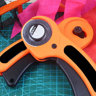 Quilting Fabric Knife Leather Rotary Cutter Patchwork Circular Cutting Blade