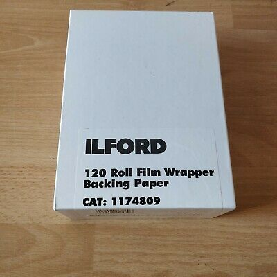 Ilford 120 Roll Film Backing Paper ULF 2018 Program