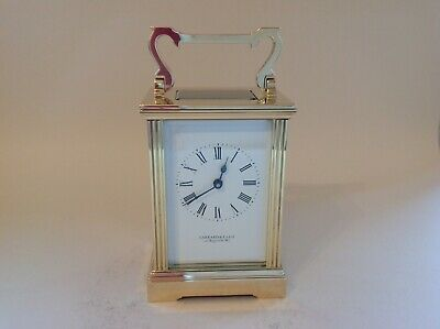 Stunning Vintage Carriage Clock From Garrard & Co Ltd Restored Jan 2020